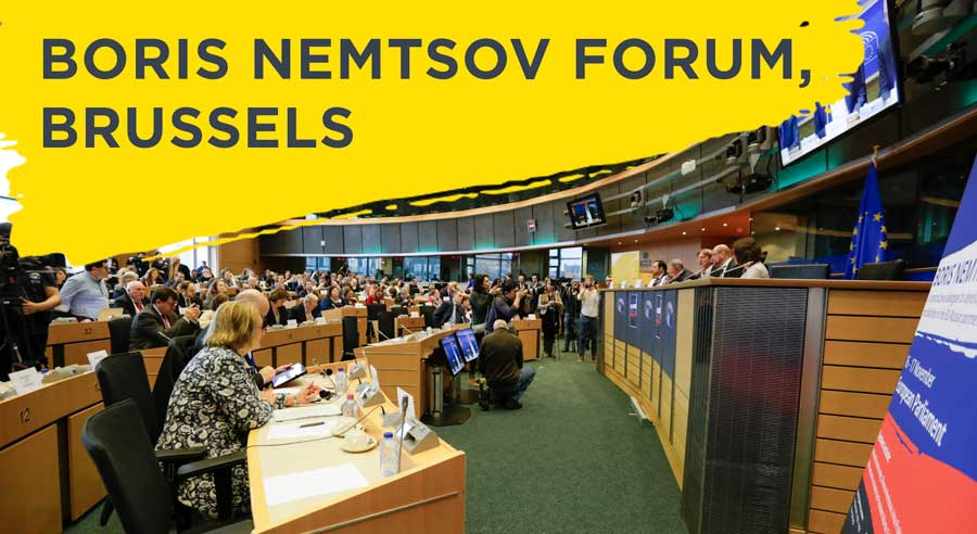 The Boris Nemtsov Forum in Brussels Releases Full Report
