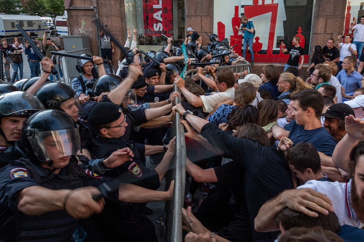 IMR releases Katerina Gordeyeva's documentary on the 2019 summer protests in Moscow