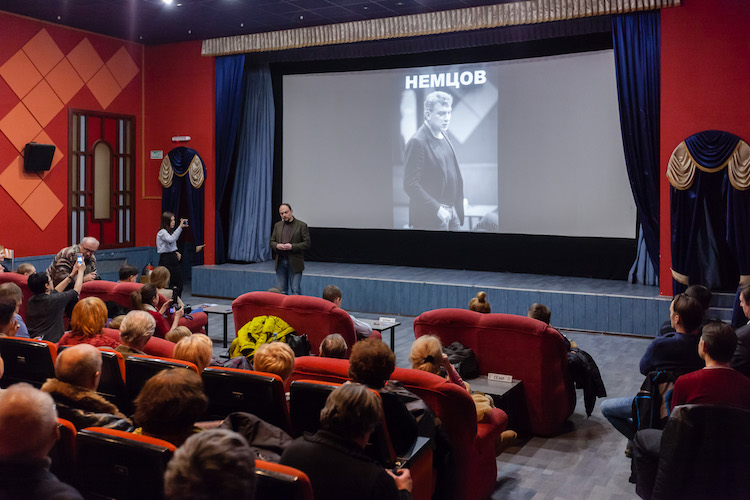 Screenings of Nemtsov Documentary Held in Russia
