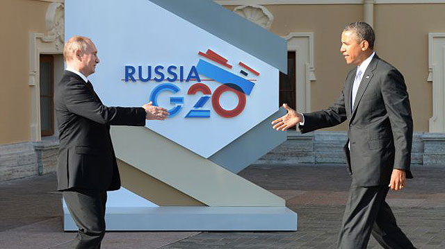 Putin, Syria and the G-20