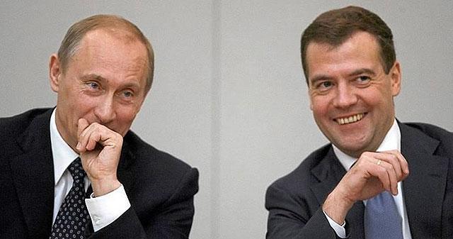 Αποτέλεσμα εικόνας για putin and medvedev