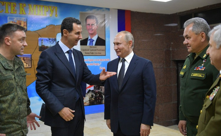 Why the Kremlin Is Not Giving Up Assad