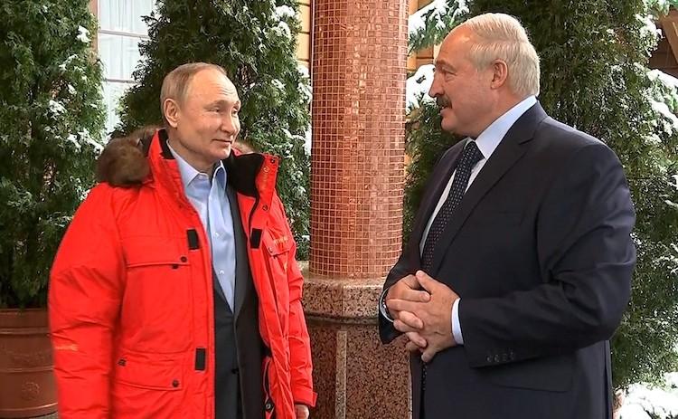 What Putin Wants From Lukashenko Institute Of Modern Russia