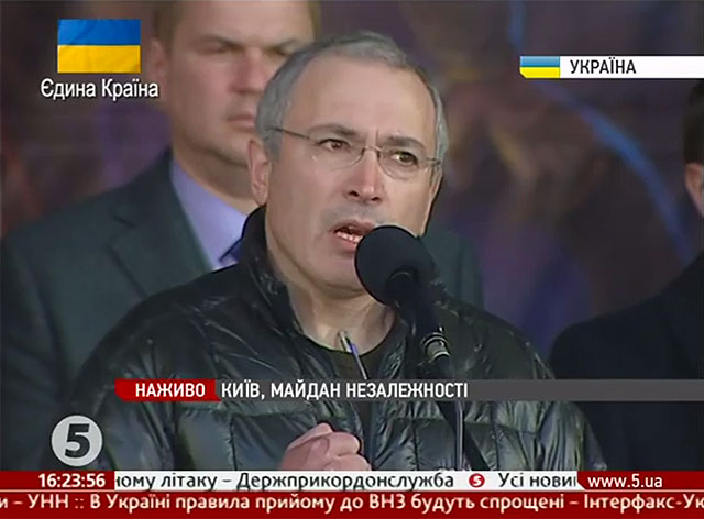 """I want you to know that there is a very different Russia."" Mikhail Khodorkovsky's Speech on the Maidan."