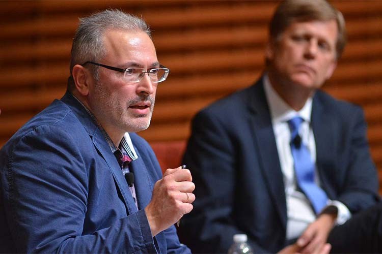 "Mikhail Khodorkovsky: ""The Russia we dream of seeing is completely different"""