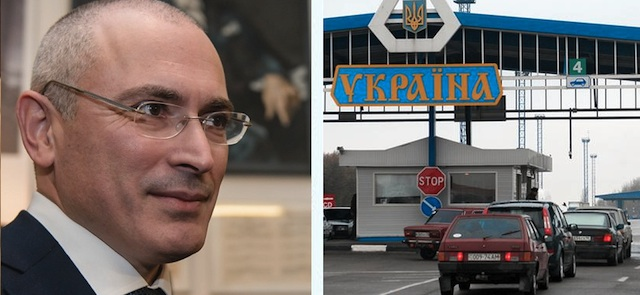 Mikhail Khodorkovsky on travel restrictions to Ukraine