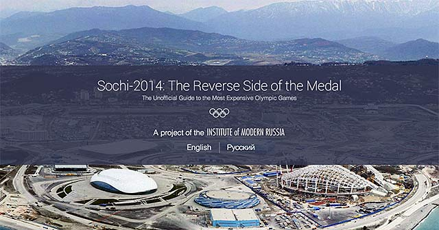 IMR Launches an Interactive Website on Abuses in Sochi Olympics