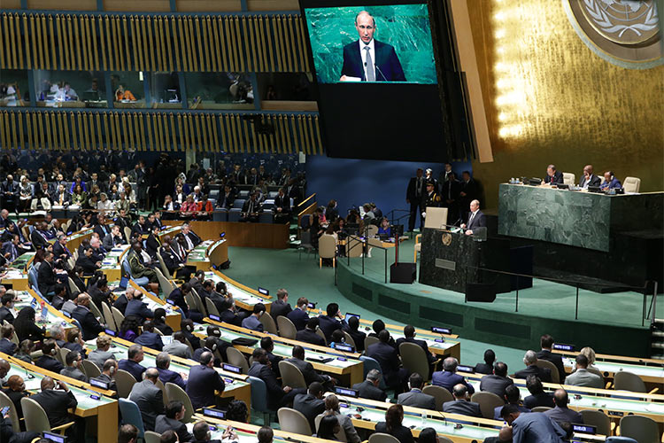 Putin's Fake Victory at the UN