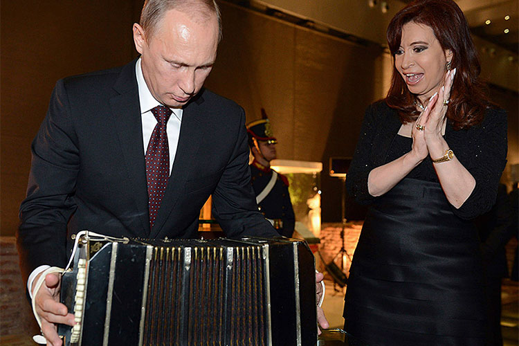 Putin Shows Off in Latin America