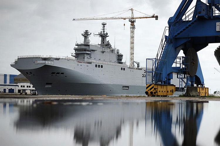 Russia's Mistral Deal: Where the Wind Blows