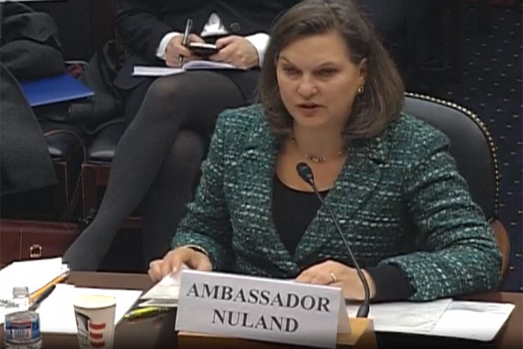 'Ukraine Under Siege': Victoria Nuland Testifies Before Congress