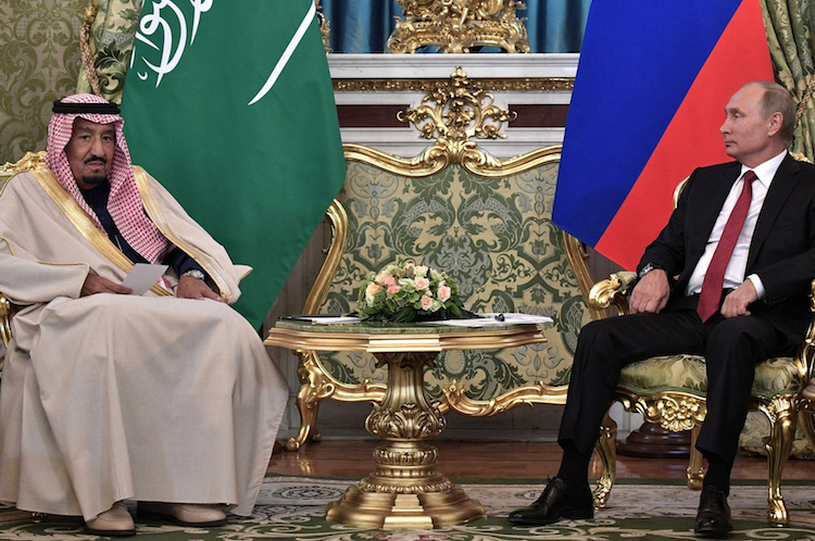 Russian Economy Suffers, Saudi King in Moscow, Lessons for Intelligentsia