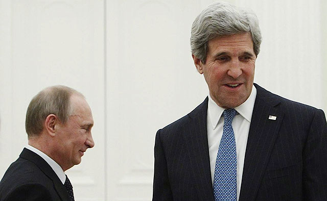 Putin Shows Kerry Who's Boss